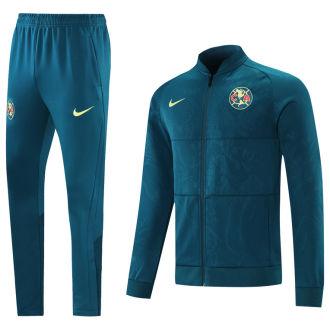 2021/22 Club America Green Blue Jacket Suit
