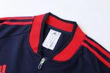 2021/22 BFC Royal Blue Jacket Tracksuit背后有Logo