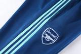 2021/22 ARS Blue Jacket Suit背后有Logo