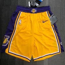 LA Lakers Yellow NBA Pants