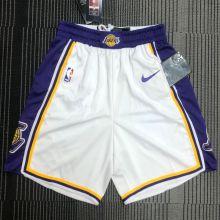 LA Lakers White NBA Pants