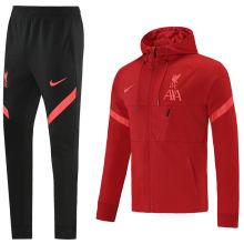 2021/22 LFC Red Hoody Zipper Jacket Tracksuit