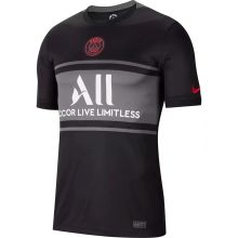 2021/22 PSG 1:1 QualityThird Black Fans Soccer Jersey