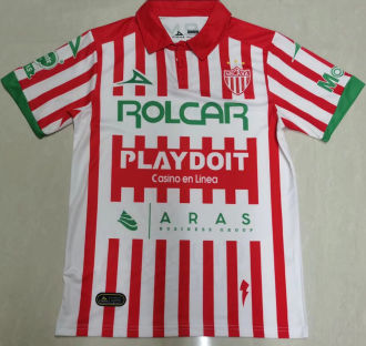 2021/22 Necaxa Home White Red Fans Soccer Jersey