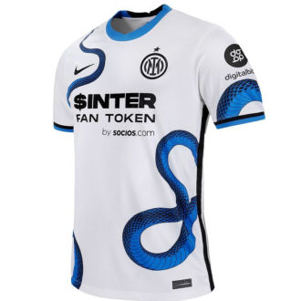 2021/22 In Milan 1:1 Quality Away White Fans Soccer Jersey