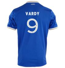 VARDY #9 Leicester City Home Blue Fans Jersey 2021/22 ((Cup Fonts杯赛字体)