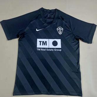 2021/22 Elche Away Black Fans Soccer Jersey