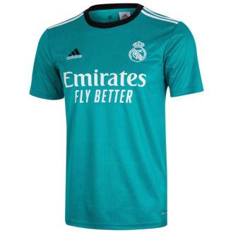 2021/22 RM 1:1 Quality Third Green Fans Soccer Jersey
