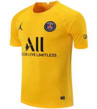 2021/22 PSG Yellow GK Soccer Jersey