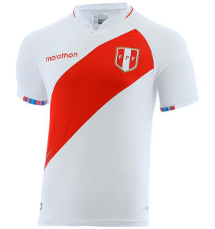 2021/22 Peru Home White Fans Soccer Jersey