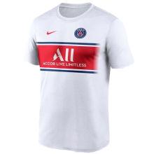2021/22 PSG White T-Shirt Jersey