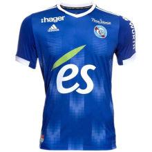 2021/22 Strasbourg Home Blue Fans Soccer Jersey