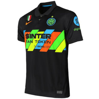 2021/22 In Milan 1:1 Quality Third Black Fans Soccer Jersey
