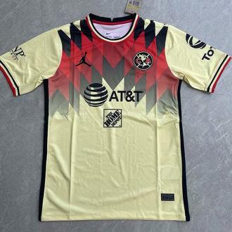 2021/22 Club America JD Yellow Fans Soccer Jersey