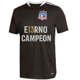 2021/22 Colo-Colo E13RNO CAMPEON Black Fans Soccer Jersey