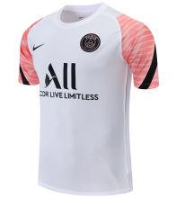 2021/22 PSG White Pink Short Training Jersey