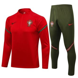 2021/22 Portugal Red Sweater Tracksuit