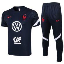 2021/22 France Royal Blue Training Tracksuit