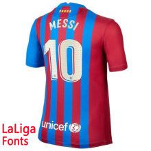 MESSI #10 BA 1:1 Home Fans Jersey 2021/22 (LaLiga Fonts西甲字体)