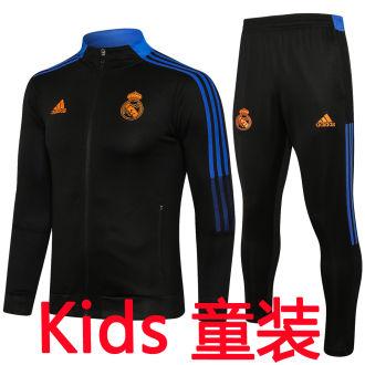 2021/22 RM Black Kids Jacket Tracksuit