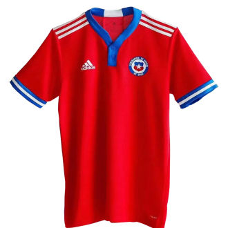 2021/22 Chile Home Red Fans Soccer Jersey