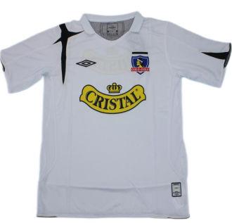 2006 Colo-Colo Home White Retro Soccer Jersey