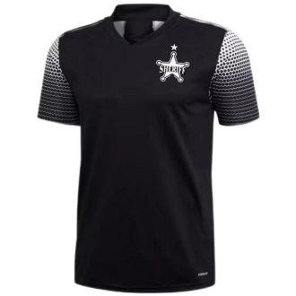2021/22 FC Sheriff Tiraspol Home Black Fans Soccer Jersey警长