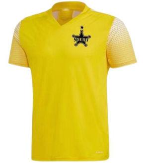 2021/22 FC Sheriff Tiraspol Away Yellow Fans Soccer Jersey警长