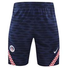 2021/22 PSG Blue Training Shorts Pants