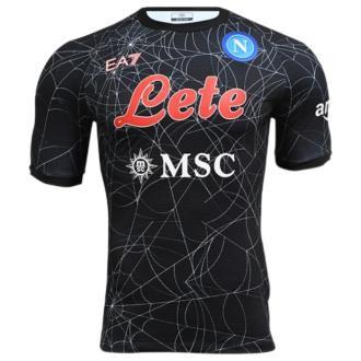 2021/22 Napoli Halloween Edition Black Fans Soccer Jersey