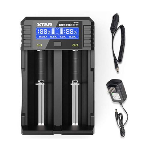 XTAR SV2 ROCKET Digital Battery Charger