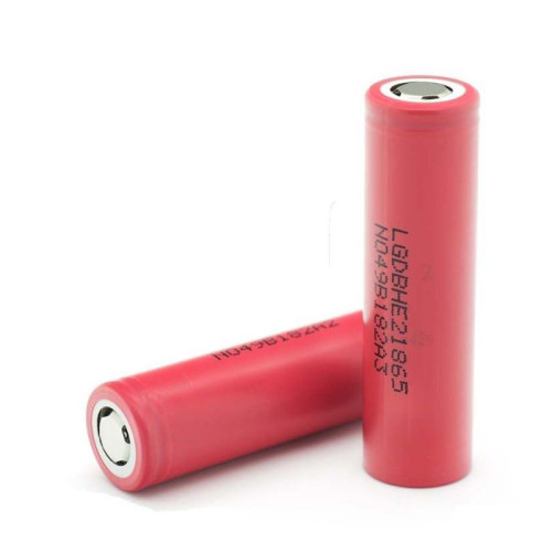 LG HE2 18650 2500mAh 20A Battery (Order Separately)