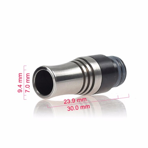 510 Anti-Spill Drip Tip Metal with 9 Holes