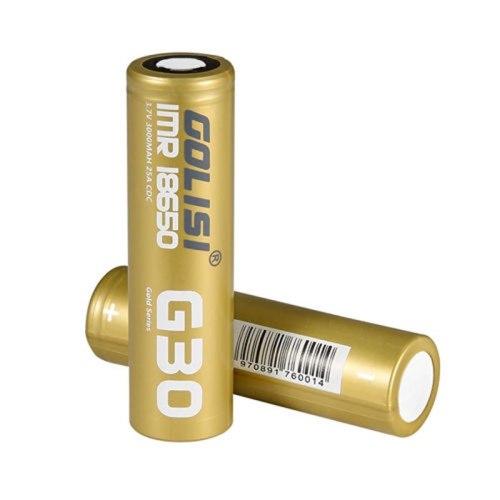Golisi G30 3.7V / 3000mAh 18650 Rechargeable Li-ion Battery 25A 1pcs (Order Separately)