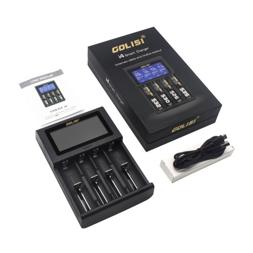 GOLISI I4 2A Smart Charger LCD Screen Display
