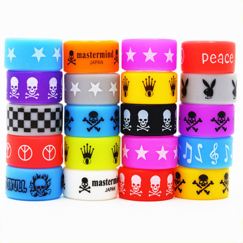 Non Slip Protective Silicone Vape Band 22mm*12mm*2mm