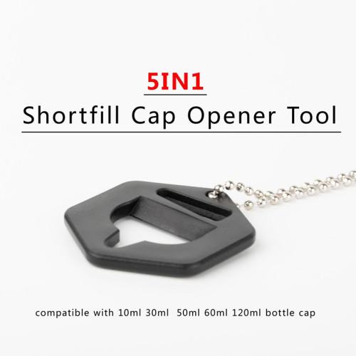 5 in 1 Shortfill Bottle Cap Opener Tool