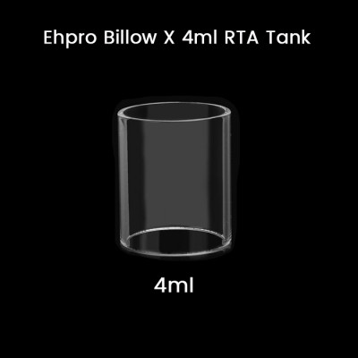 Ehpro Billow X 4ml RTA Tank Glass Tube