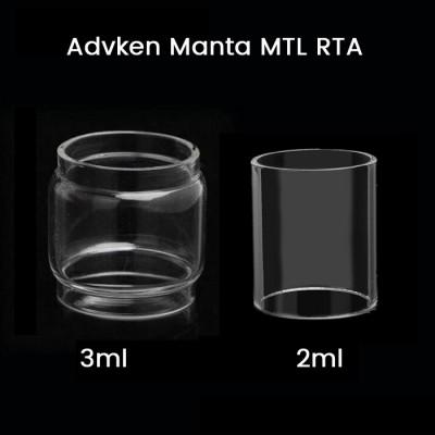 Advken Manta MTL RTA Glass Tube 2ml/3ml