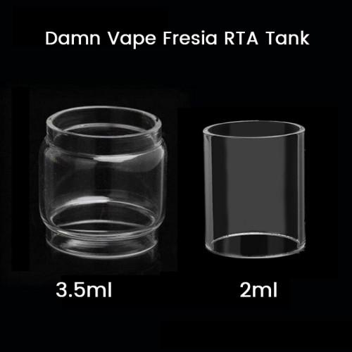 Damn Vape Fresia RTA Tank Glass Tube 2ml/3.5ml