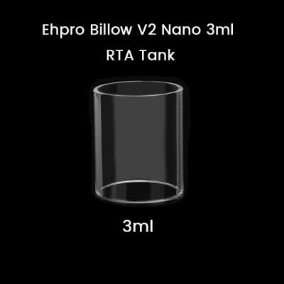 Ehpro Billow V2 Nano 3ml RTA Tank Glass Tube