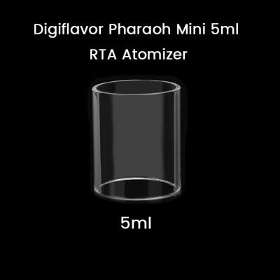 Digiflavor Pharaoh Mini 5ml RTA Atomizer Glass Tube