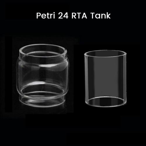 Petri 24 RTA Tank Glass Tube