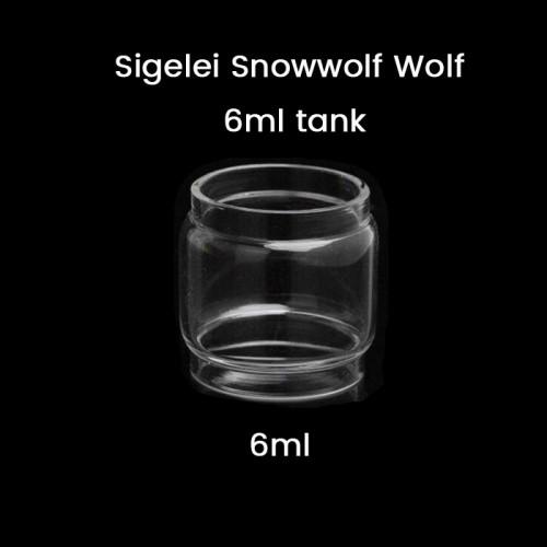 Sigelei Snowwolf Wolf 6ml tank Bulb GLass