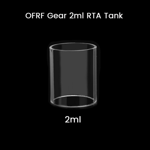 OFRF Gear 2ml RTA Tank Glass Tube