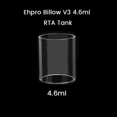 Ehpro Billow V3 4.6ml RTA Tank Glass Tube
