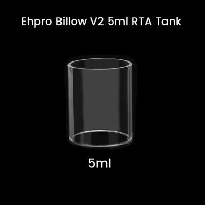 Ehpro Billow V2 5ml RTA Tank Glass Tube