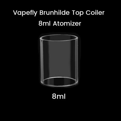 Vapefly Brunhilde Top Coiler 8ml Atomizer Glass Tube