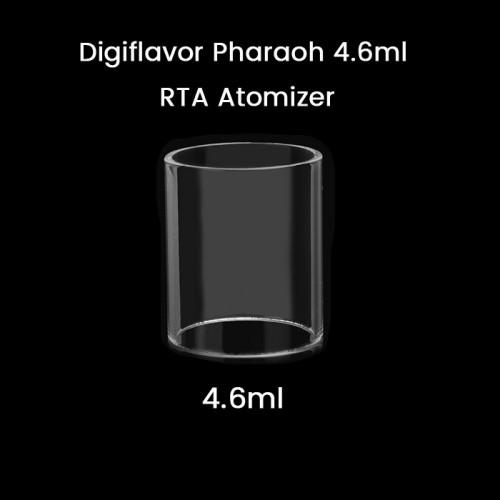 Digiflavor Pharaoh 4.6ml RTA Atomizer Glass Tube