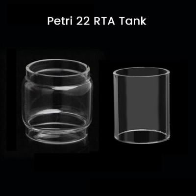 Petri 22 RTA Tank Glass Tube